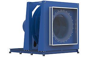 Вентилятор Freulaufender PR 114 - Frontansicht