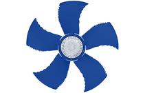 синий вентилятор