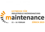 Logo der Messe Maintenance in Zürich