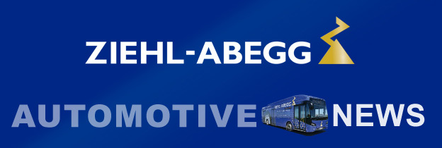 "Banner ""Ziehl-Abegg Automotive News"""